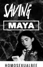 Saving Maya ~ Rilaya AU by SparkleLikeAFarkle