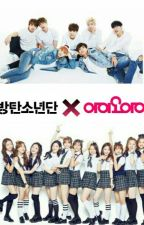 Group Chat ; BTS × IOI by winteryein
