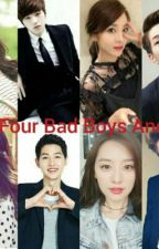 The Four Bad Boys And Us by pink_sushi0626