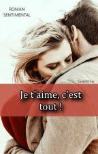 Je T'aime C'est Tout ! by AWriterAtHeart01