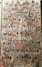 All Sans zodiacs by Kirafoch4ever