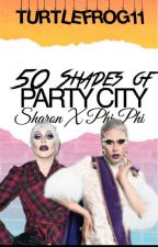 50 Shades of Party City (Sharon x Phi Phi) by TurtleFrog11