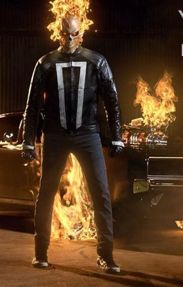 The burning blake x ghost rider reader x yang gods perfect idiot