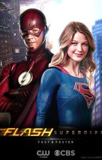 The Flash and Supergirl by JasminTheiler74