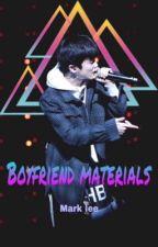 Boyfriend materials + MarkLee by limitleetyong