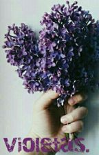 Violetas. |l.s| by -yourssincerelyLouis