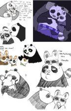 karate chop me daddy - Po X Master Shifu by boobookeys42