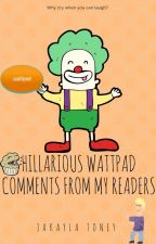 Hilarious Wattpad Comments by Ms_Horrendous