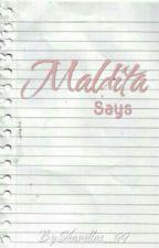 """""""Maldita says"""" by Skamillas_99"""