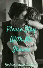 Please Stay With Me Shawn [Shawn Mendes] by MarsyaApriliaMalik