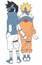 Naruto's visitor  (Sasunaru)  by fandomtrashtimelord