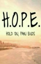 H.O.P.E - hold On,pain Ends. by kevindsouza5