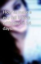 How to make a guy fall in love with you, in 14 days. by ceanderson