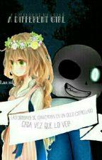 Una Niña Diferente ×Sans×  by -ImBeluote-