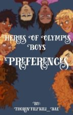 Heroes of Olympus Boys Preferences [COMPLETE] by ThorinFiliKili_Bae