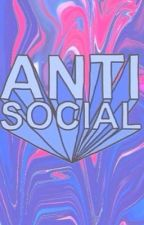 some anti social girl by babygcaat