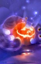 Halloween art by TrashPrinceWolfii