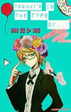"""""""Togami's Is The Type Of..."""" by jazmin777OMG"""