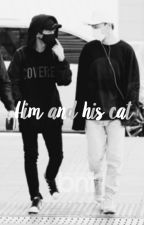 him and his cat » chenmin. by LeslieMaslow