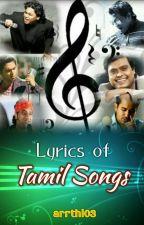 Lyrics of Tamil Songs by jungkris_0104