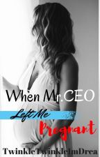 When Mr.CEO Left Me Pregnant by ceunie_darean