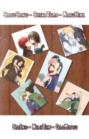 Sexys en un ....// SasuSaku// ShikaTema// NaruHina// SaiIno// NejiTen// GaaMatsu