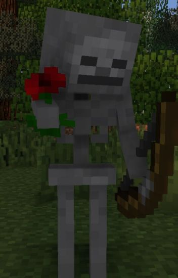 skeleton x reader [minecraft x reader] - gamevoid - wattpad, Skeleton