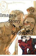 IMAGENES: STONY Y SPIDYPOOL  by AleAlatorre