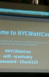 #NYCWattcon by indigoapples
