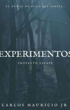 EXPERIMENTOS, Proyecto Escape Vol 1, |COMPLETA| #GBA18k by CarlosMauriciojr