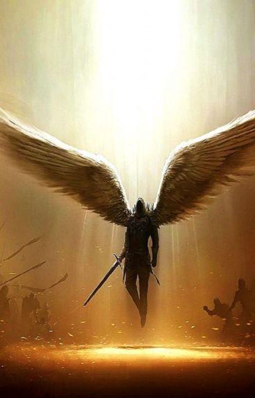 Angel with a shotgun (Solangelo)