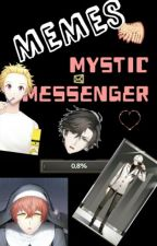 Memes de Mystic Messenger  by Nives_white