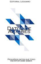Datos de autores |Editorial Leggiamo| by LeggiamoEditorial