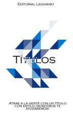 Títulos |Editorial Leggiamo| by LeggiamoEditorial
