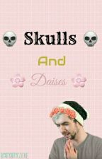 Skulls and Daises  (Septiplier) by IttyBittyCookie
