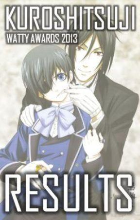『 2013 』 RESULTS by KuroWattyAwards