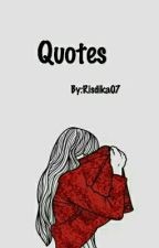 Quotes by Risdika07