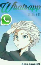 Whatsapp  [Killua y tu] by Neko-Kawaii21