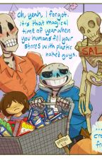 Undertale Halloween Sans X (female) Reader COMPLETED by sapphiremoon86