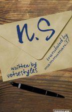 N.S[Narry au]*Estonian translation* by mammumari37