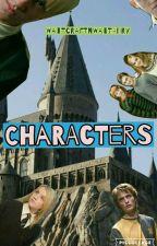 Hogwarts (Characters) by WattcraftNWattadry