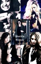 Quote Book by lovaticc_d