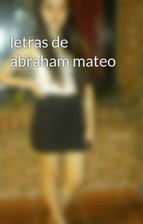 Letras De Abraham Mateo Abraham Mateo A Place In My Heart Wattpad