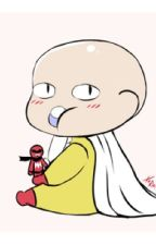 One Punch Man x Baby Reader by GoldenPistolz