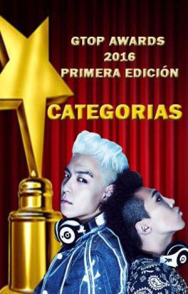 Categorías [GTOP AWARDS 2016] CERRADA