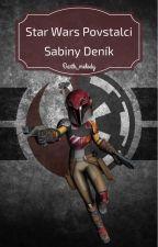 Star Wars povstalci sabiny deník by Darth_melody