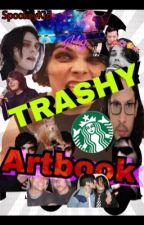 My TRASHY artbook by SpookeyKid