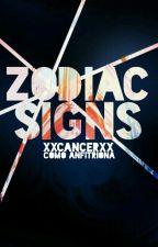 Zodiac Sings by xXCancerXx