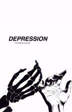 → depression ← by -tessblack-