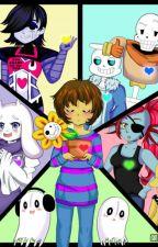 UNDERTALE BOOK~ by Senpai-Kitty-Chan